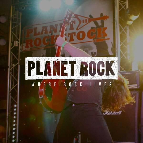 Planet Rock 600x600 Logo