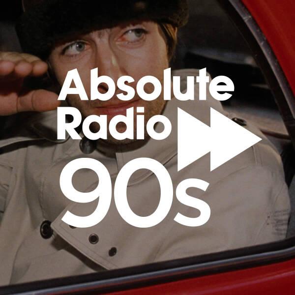 Absolute Radio 90s 600x600 Logo