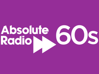 Absolute Radio 60s 320x240 Logo