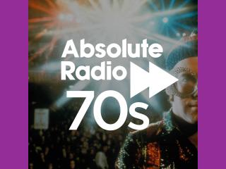 Absolute Radio 70s 320x240 Logo