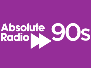 Absolute Radio 90s 320x240 Logo
