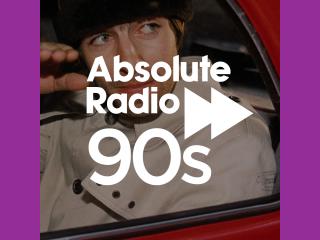 Absolute Radio 90s 320x240 Logo